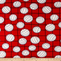 Polar Fleece Volleyball Red