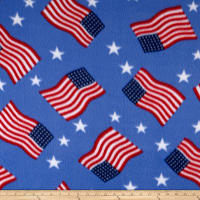 Polar Fleece Flag Blue