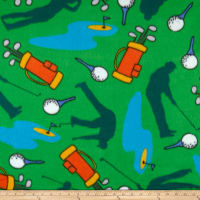 Polar Fleece Golf Green