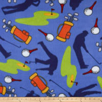 Polar Fleece Golf Blue