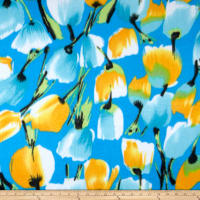 Polar Fleece Large Tulip Blue