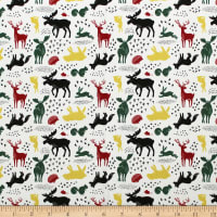 Hudson Forest Animals Cream