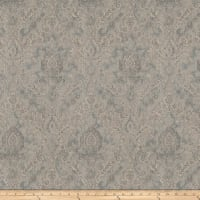 Fabricut Movies Damask Linen Platinum