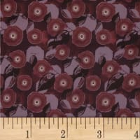Mulberry Bloom Poppy Digital Purple