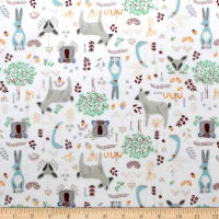 Nursery Program Flannel Forest Friends Stone