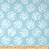 Mandala Flannel Blue