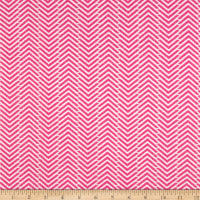 Arrow Herringbone FlannelGeranium