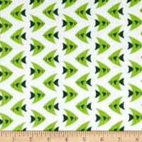 Camelot Flannel Fish Green