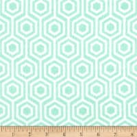 Flannel Honeycomb Mint