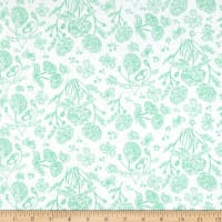 Flannel Toile Mint