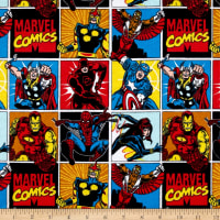 Marvel Flannel Print Dinomite Bright Multi