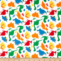 Dinomite Flannel Bright