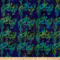 Island Batik Fresh Vineyard Roosters Jungle Water