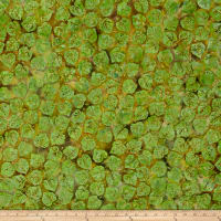 Island Batik Mountain's Majesty Aspen Leaves Leprechaun