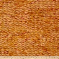 Island Batik Autumn's Grace Dot Copper