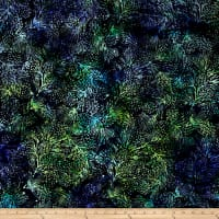 Island Batik Mountain's Majesty Pinecone Jungle Water