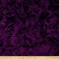 Island Batik Sunflower Seranade Dot Purple