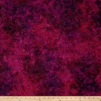Island Batik Sunflower Seranade Mini Dot Plum