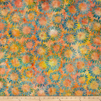 Island Batik Sunflower Seranade Sunflower Cotton Candy