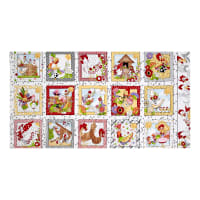 "Loralie Designs Chicken Chique 24""Panel Multi"
