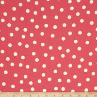 Loralie Designs Happy Camper Jumbo Dots Rose/White