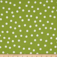 Loralie Designs Happy Camper Jumbo Dots Green/White