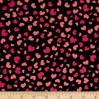 Loralie Designs Love Your Look Salon Mini Hearts Black