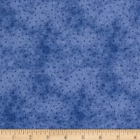 Roly-Poly Snowmen Sprinkled Dots Blue/Navy