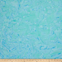 Batik Cotton Basics   Aqua