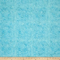 Batik Cotton Blenders Marble Aqua