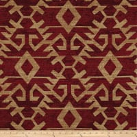 Artistry Tribal Southwest Arizcal Jacquard Crimson