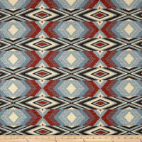 AMERICAN MADE Artistry Tribal Southwest Snake River Jacquard Chambray