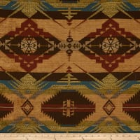 Navajo Southwest Ten Sleep Jacquard Sienna