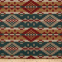AMERICAN MADE Artistry Tribal Southwest Wyocolo Jacquard Turquoise
