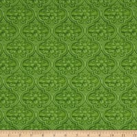 Maywood Studio Greenery Medallion Green