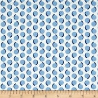Maywood Studio Hi-de-Ho Swishy Dots Blue