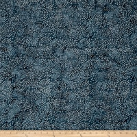 Island Batik Blenders Dot French Blue