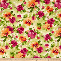 Maywood Studio Paradise Floral Paradise Soft Green