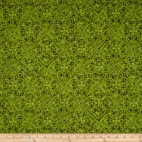 Maywood Studio Paradise Embossed Tonal Green