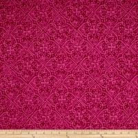 Maywood Studio Paradise Embossed Tonal Dark Pink