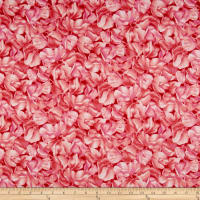 Maywood Studio Sweet Pea Flannel Tonal Blossoms Red/Pink