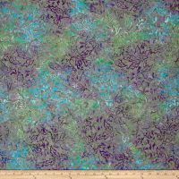 Sarah J Tranquility Batiks  Holly Gray