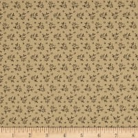 Pam Buda Prairie Shirting Country Bloom Tan