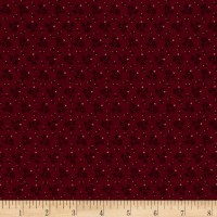 Pam Buda Prairie Basics Country Bloom Red