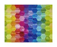 Laura Berringer Color Moods Hexies Bright