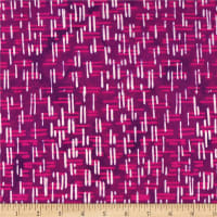 Victoria Findlay Wolfe Parts Deparments Batiks Fences Pink