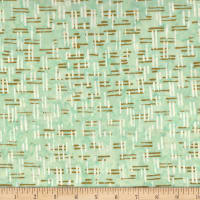 Victoria Findlay Wolfe Parts Deparments Batiks Fences Aqua