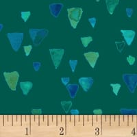 Nancy Rink Sea Glass Shards Dark Green
