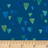 Nancy Rink Sea Glass Shards Navy