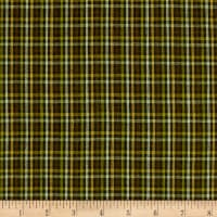 Rustic Wovens Small Check Green/Brown